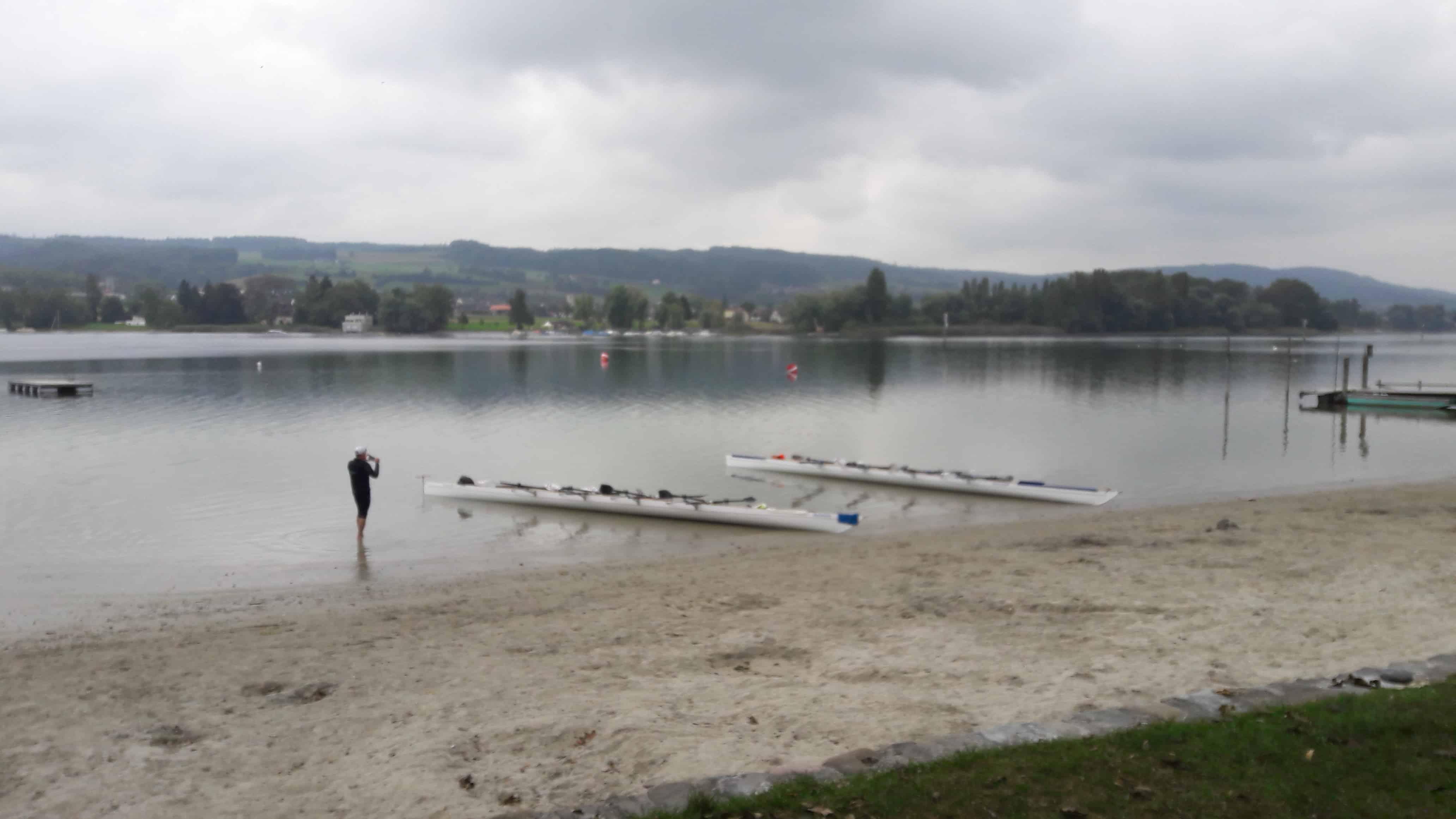 Kurze Pause in Öhningen