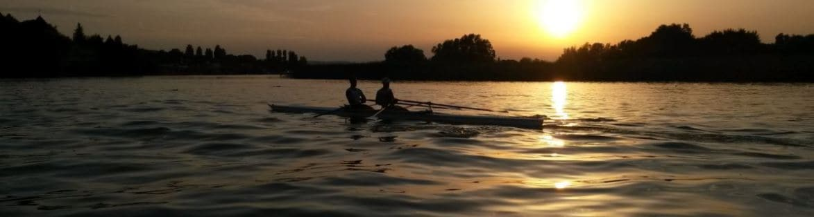 Rowing-Sundown